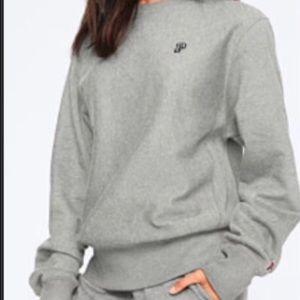 VS Pink College Premium crew sweatshirt